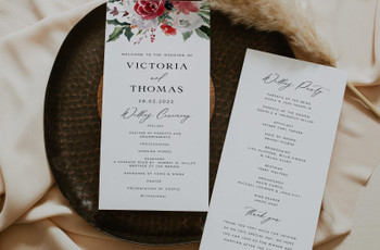 What Is a Wedding Order of Service and What Needs to Be Included?