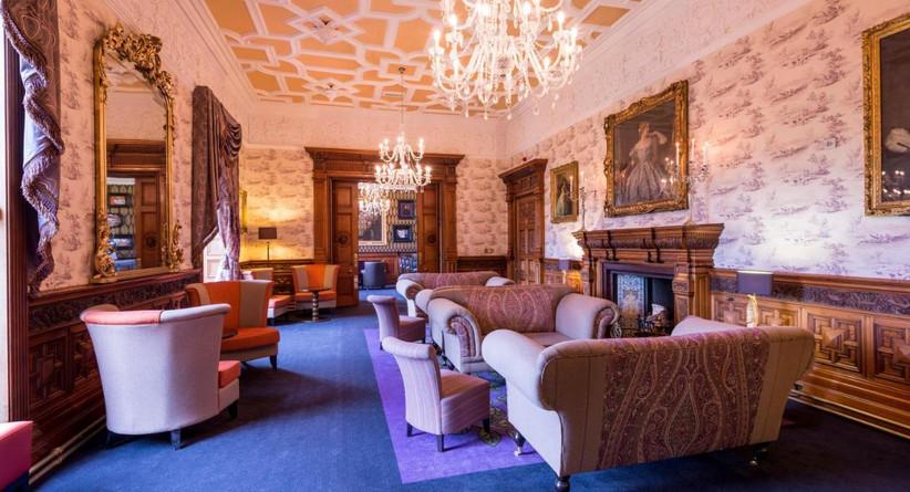 Lounge at Ardoe House