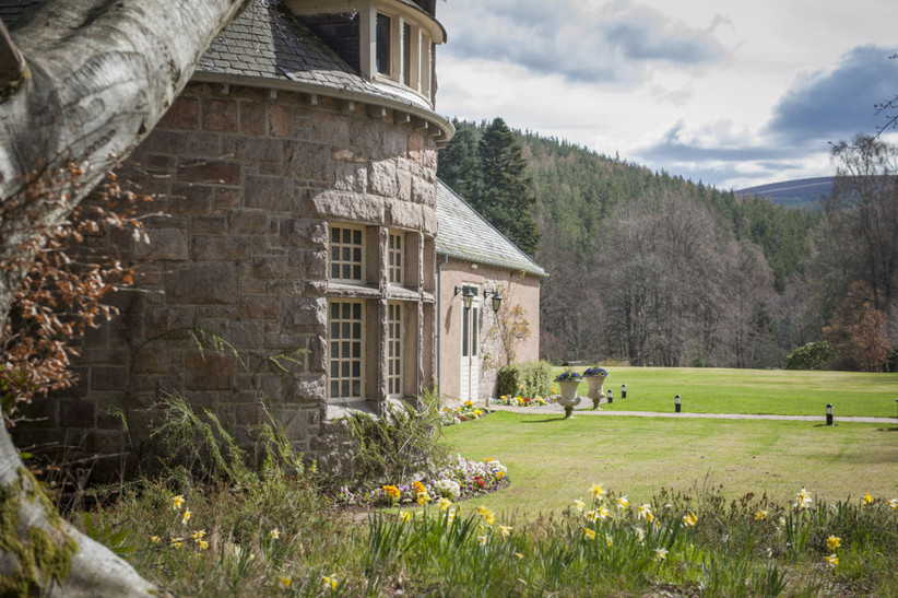 Exterior of Glen Tanar
