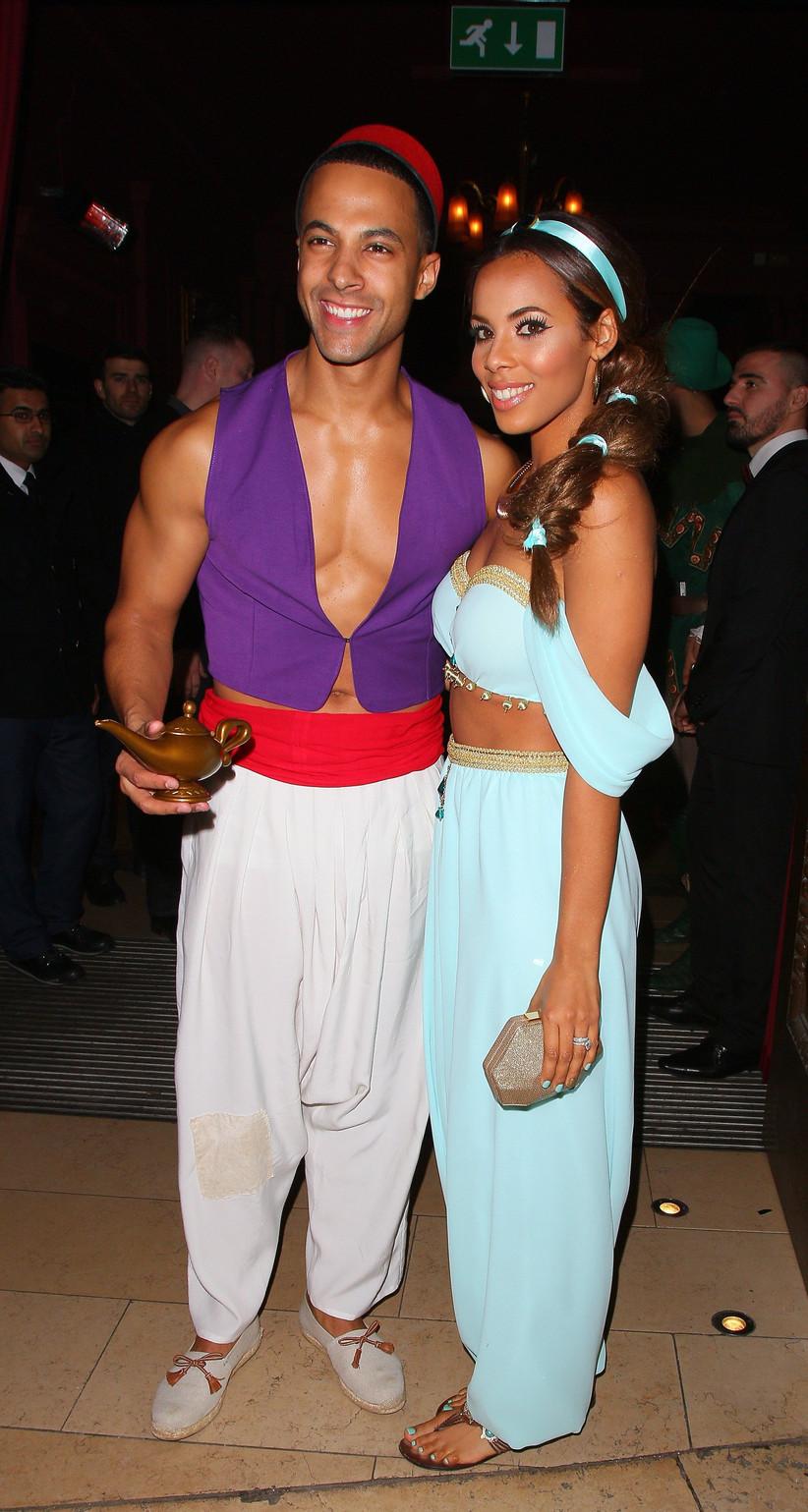 Couples Halloween Costume Aladdin and Princess Jasmine
