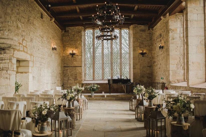 Chapel wedding ceremony room