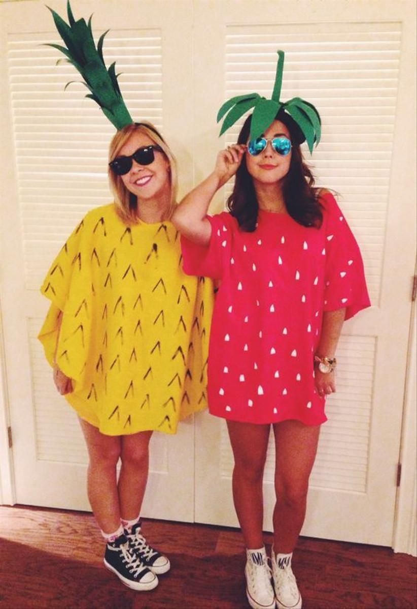Couples Halloween Costume fruit