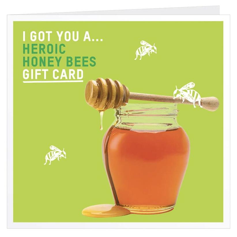 Honey bees gift card