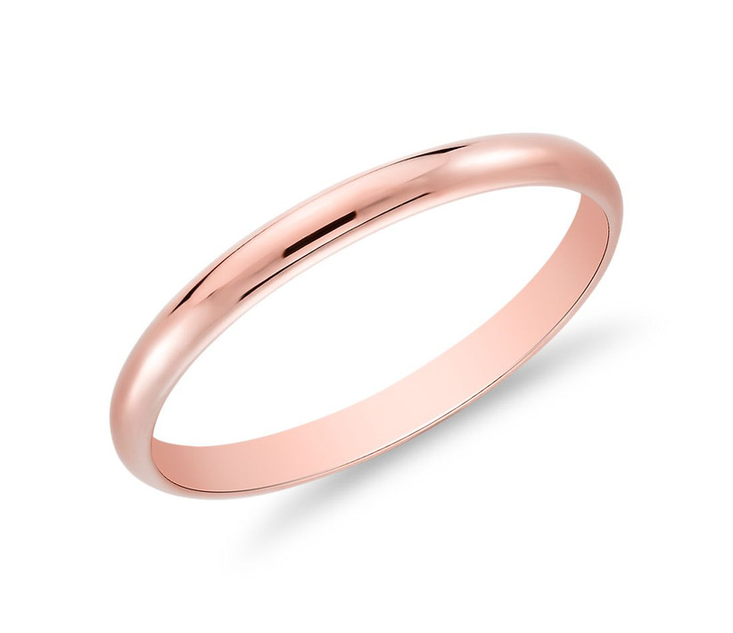 Rose Gold Classic Ring