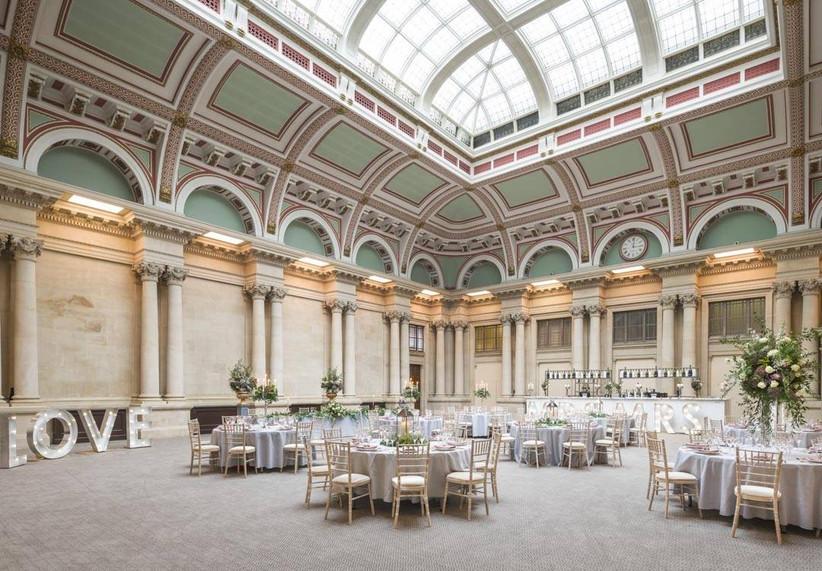 Large wedding dining room