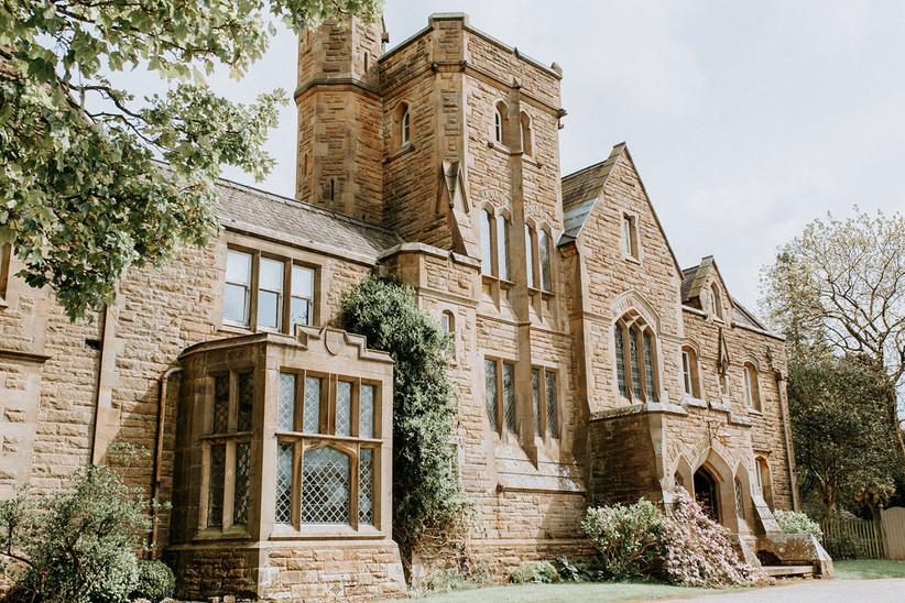 Exterior of Lancashire wedding venue Wyresdale Park
