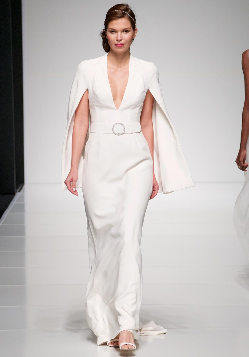 alan-hannah-cape-sleeve-dress