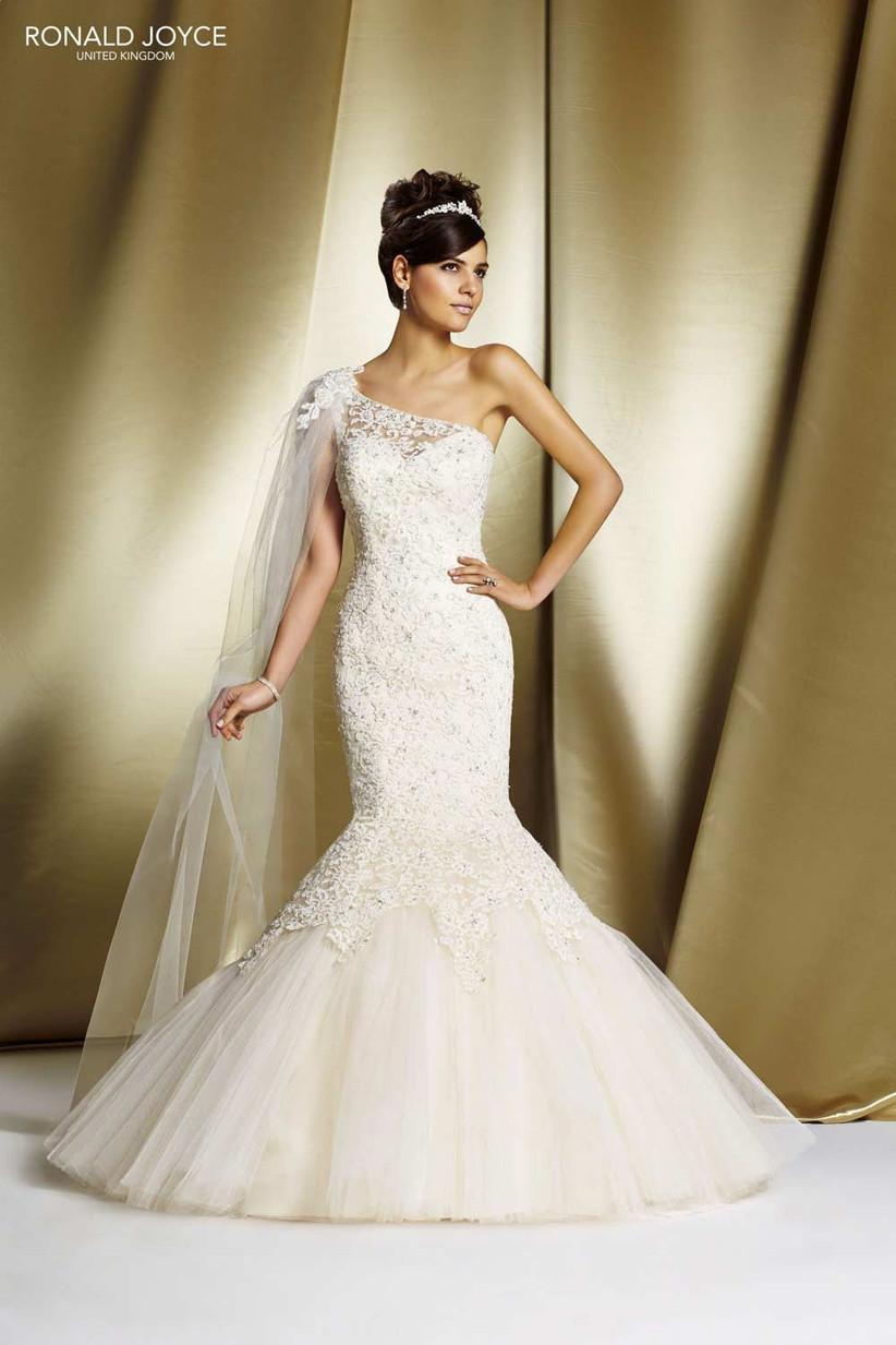 one-shoulder-wedding-dress-from-ronald-joyce