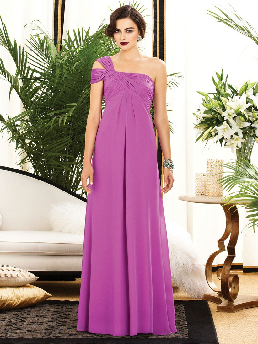 we-love-this-purple-one-shoulder-bridesmaid-dress-from-dessy-that-has-a-unique-double-strap-with-open-shoulder-detail