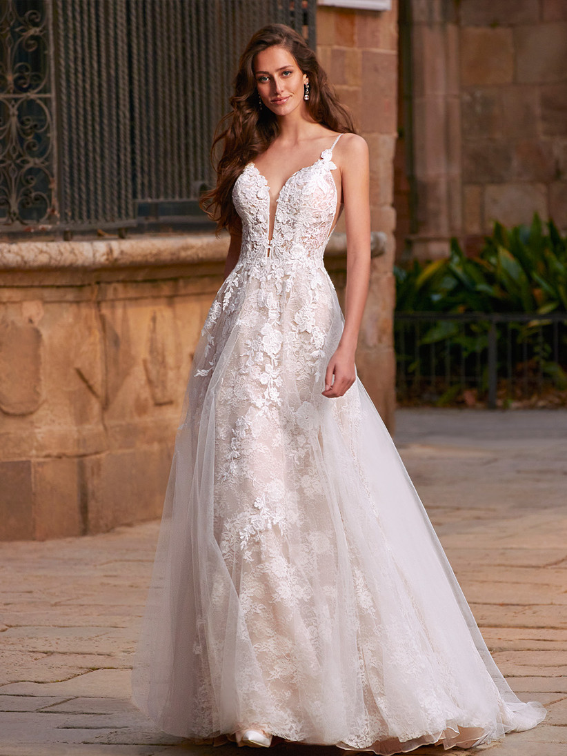Etoile Chloe wedding dress from the front