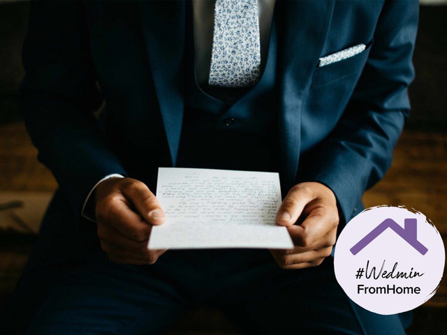 10 Steps to Writing the Perfect Wedding Speech