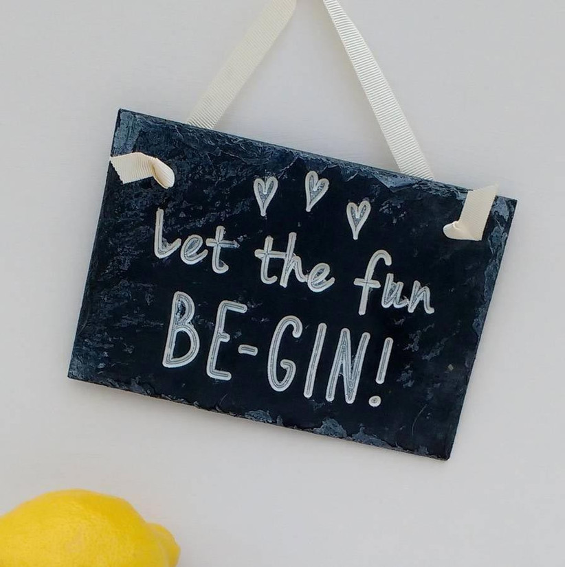 gin-themed-signage-for-a-wedding