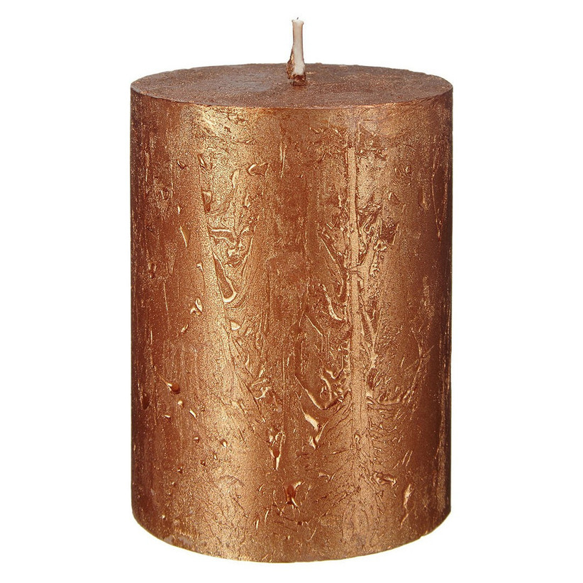 Copper wedding candle