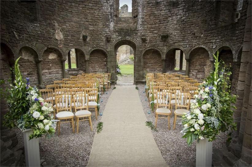 Ludlow Castle ceremony