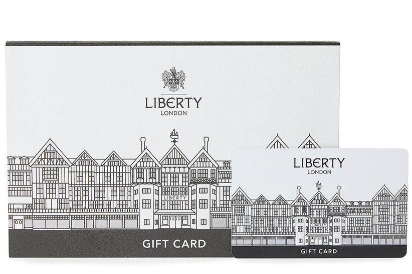 Liberty London gift card