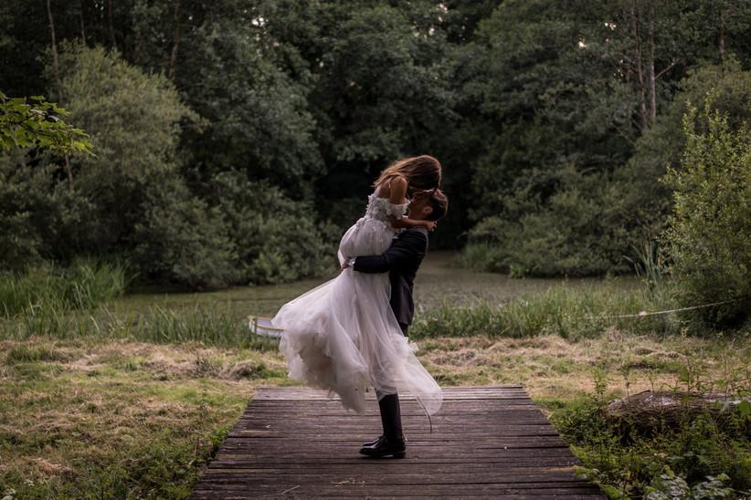 Charlotte and Dan - Fairyhill Wedding