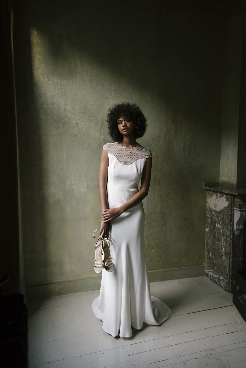 21 Stunning Fit And Flare Wedding Dresses For Every Kind Of Bride Hitched Co Uk