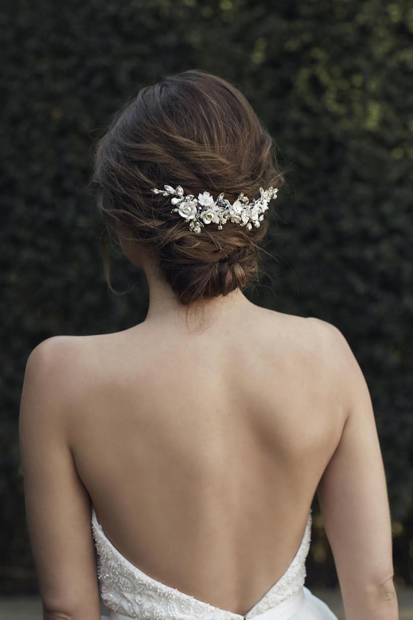 Wedding hair updo ideas 5