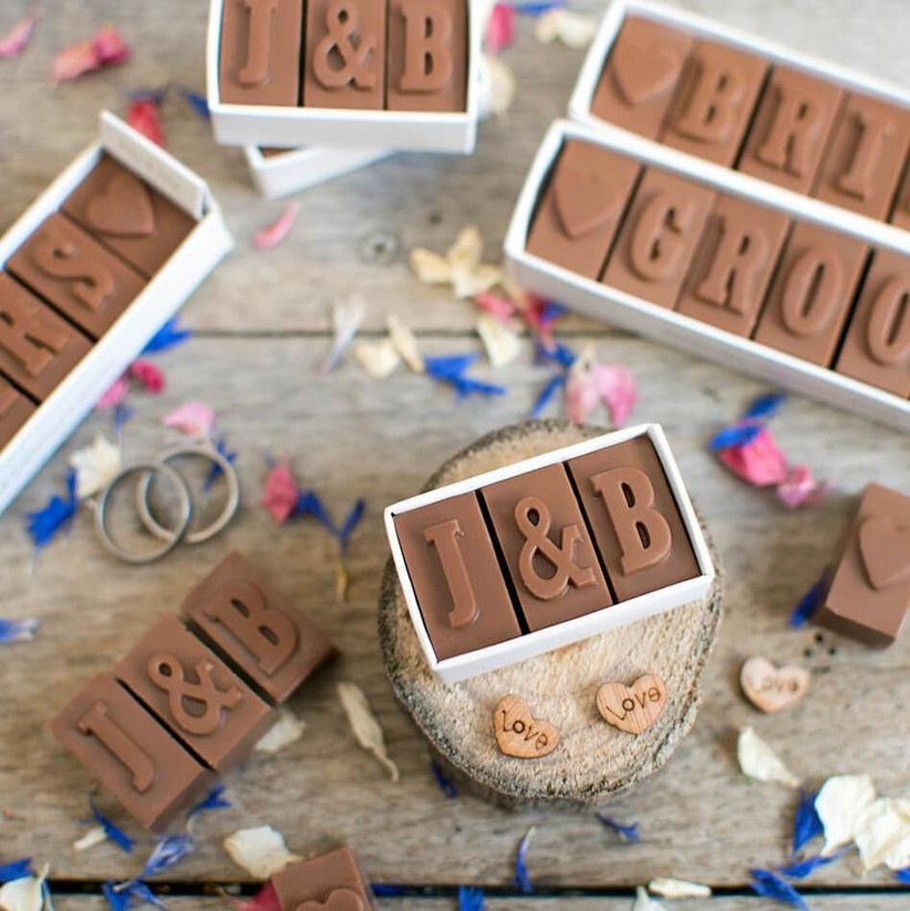 chocolate-wedding-favours