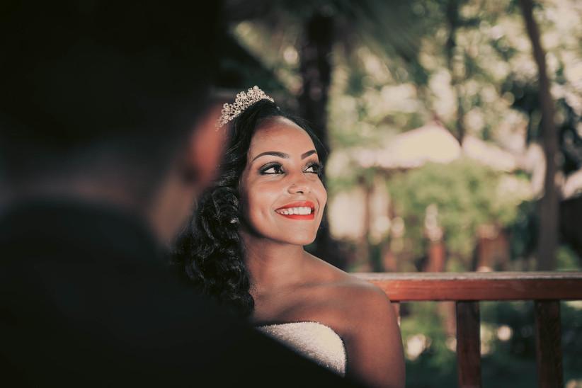 Wedding makeup ideas for Black brides 11