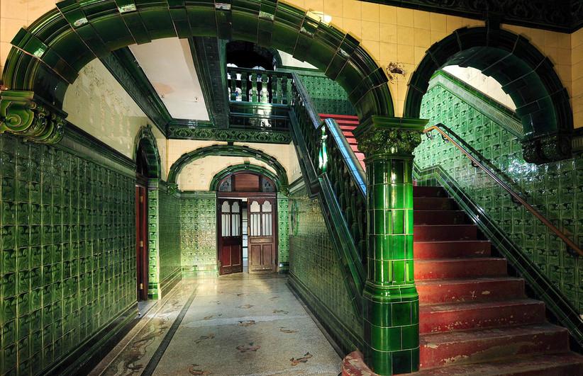 Staircase at venue Victoria Bath