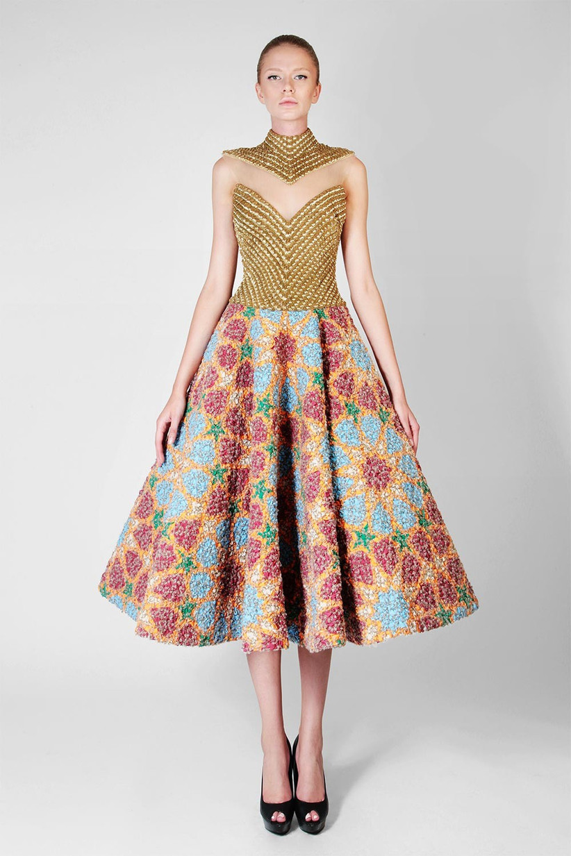 wool-stitched-wedding-dress-tea-length