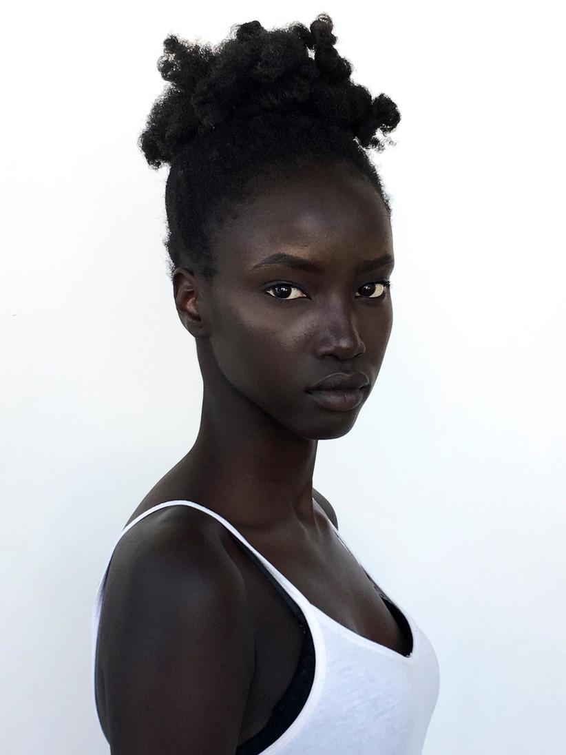Wedding makeup ideas for Black brides 16