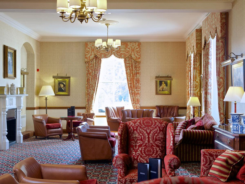 Interior of Glasgow wedding venue Macdonald Crutherland House