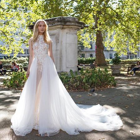 Wedding Trend Alert: The Overskirt Wedding Dress