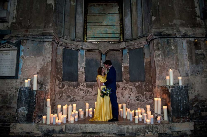 gothic-church-and-candles