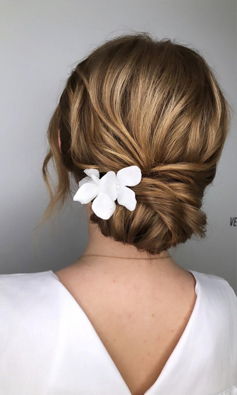 Wedding hair updo ideas 14