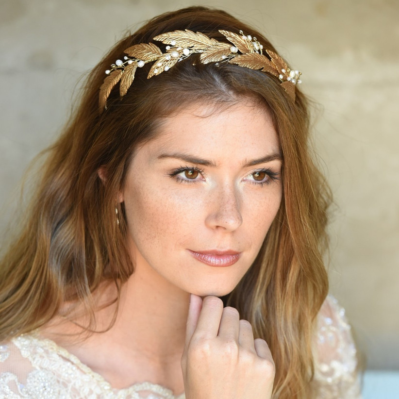 Ivory and-co-grecian-dream-bronze-enamelled-leaves-tiara
