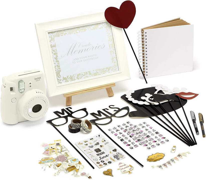 Instax wedding favour photography prop kit
