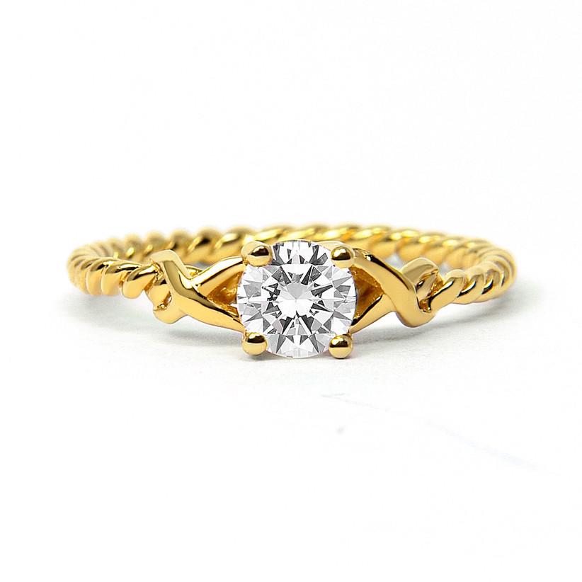 Unique engagement rings 14