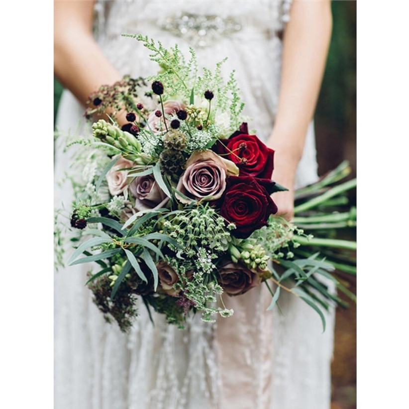 foliage-and-roses-rustic-wedding-bouquet