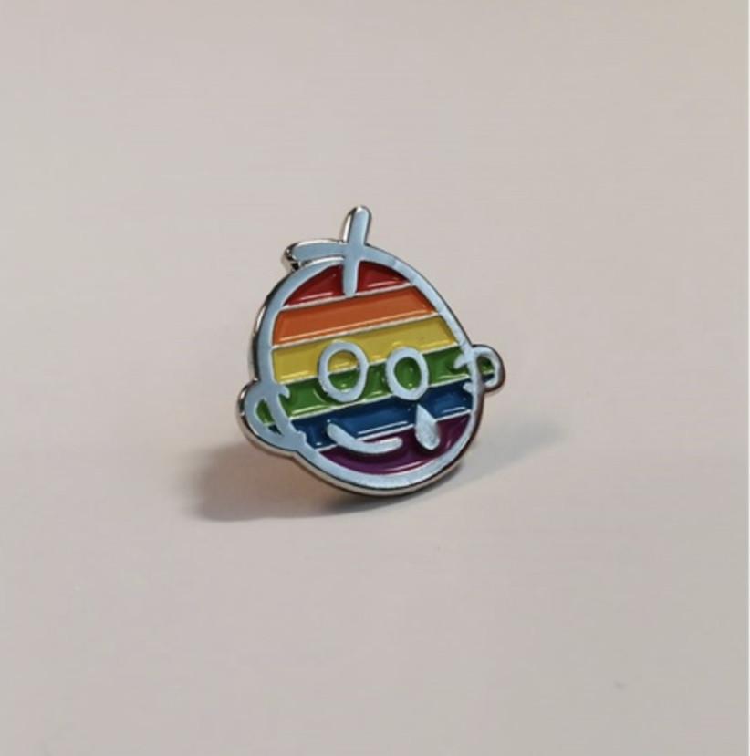 Charity Wedding Favours - GOSH pin
