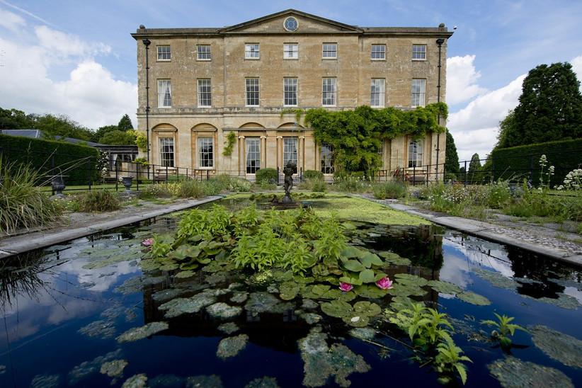 Exterior of Northamptonshire wedding venue Corteenhall Estate