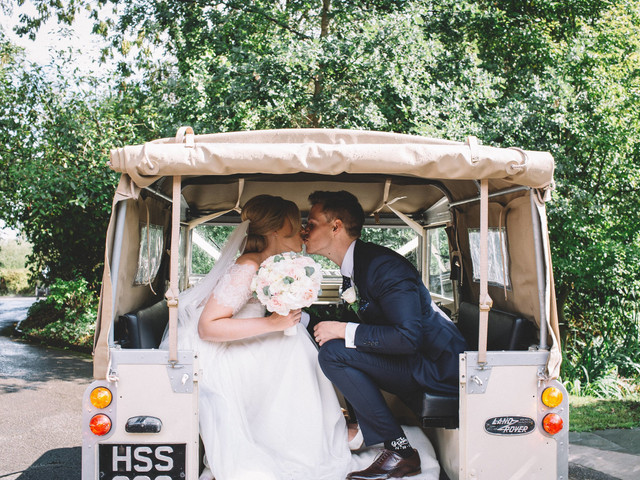 A Country Chic Wedding at The Oak Tree of Peover, Cheshire