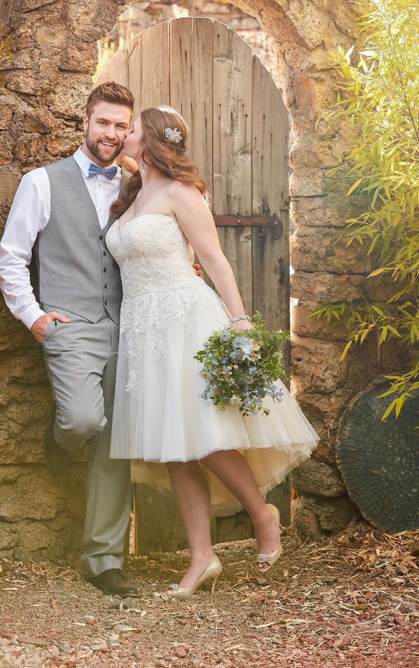 Best Short Plus Size Wedding Dresses