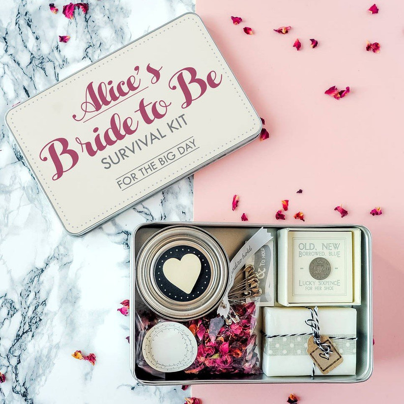 Bride to be survival kit