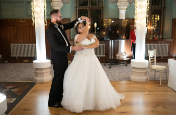 Real Covid Wedding: Emma and Ross, Wotton House in Surrey