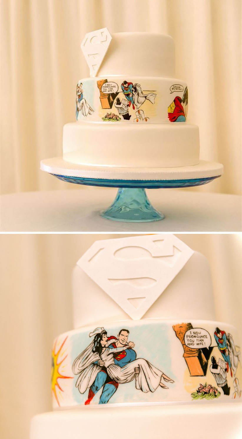 superman-wedding-cake