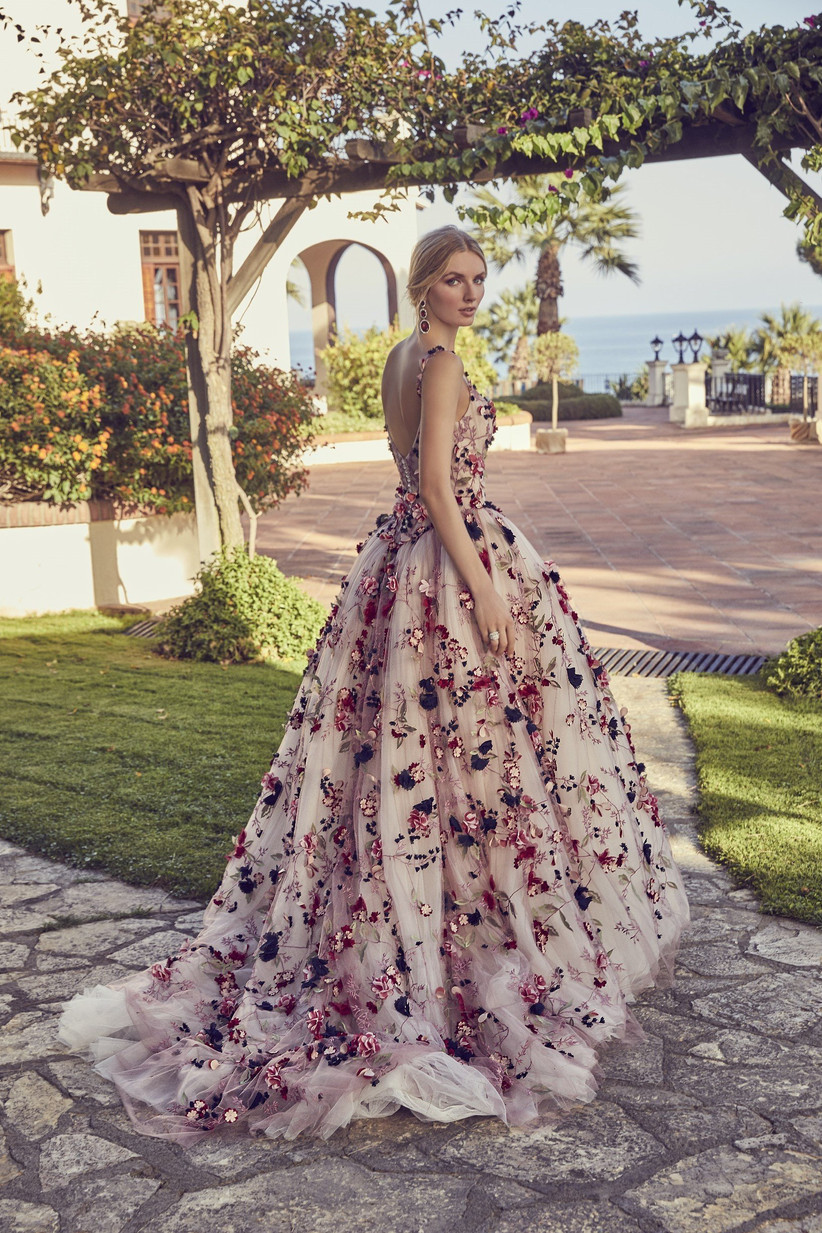 8 of the Best Colourful Wedding Dresses 8 - hitched.co.uk