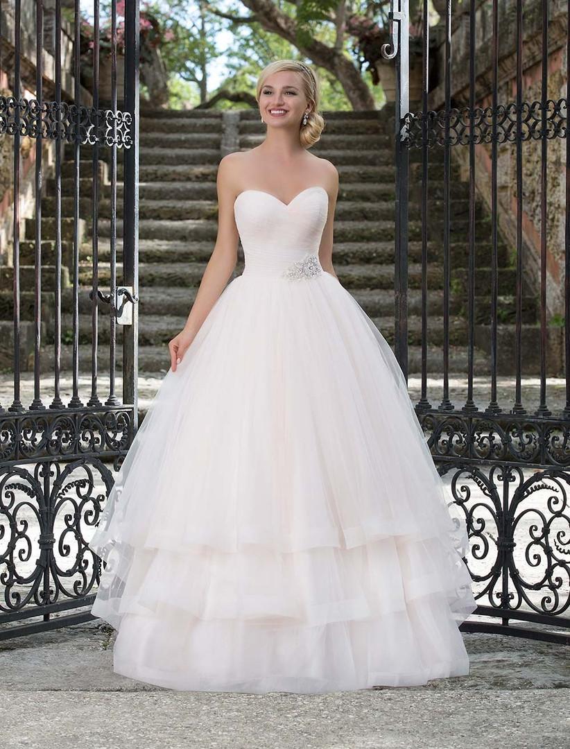pink-tiered-wedding-dress