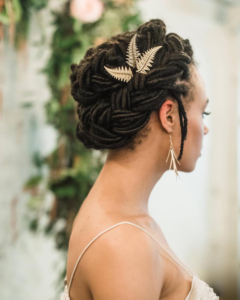 Black wedding hairstyles 14