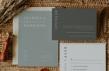 28 Wedding Invitation Templates You Can Personalise and Print