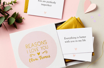1st Wedding Anniversary Gifts: Our Favourite Paper Anniversary Gift Ideas