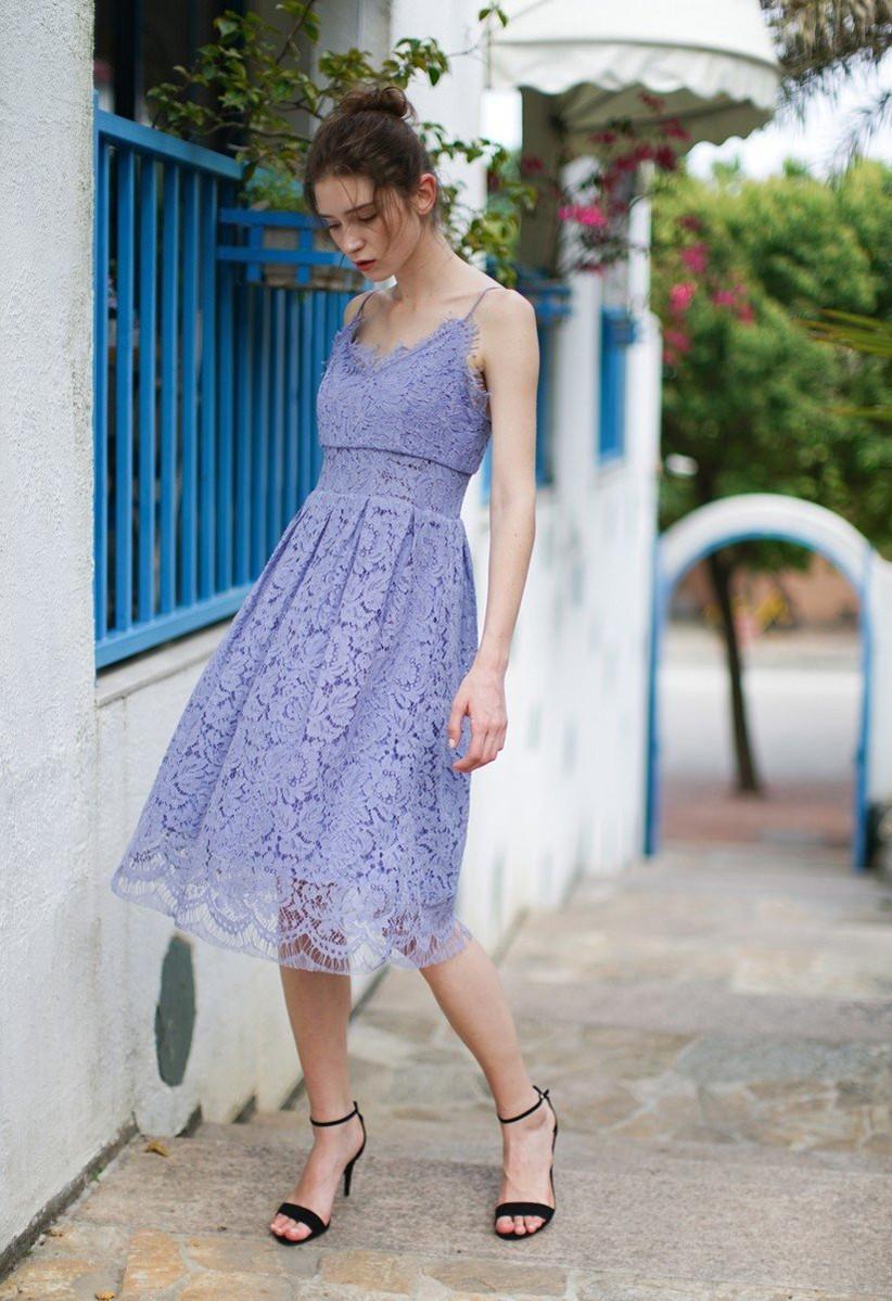 Chicwish lavender dress
