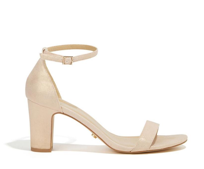 Rose gold bridesmaid shoe