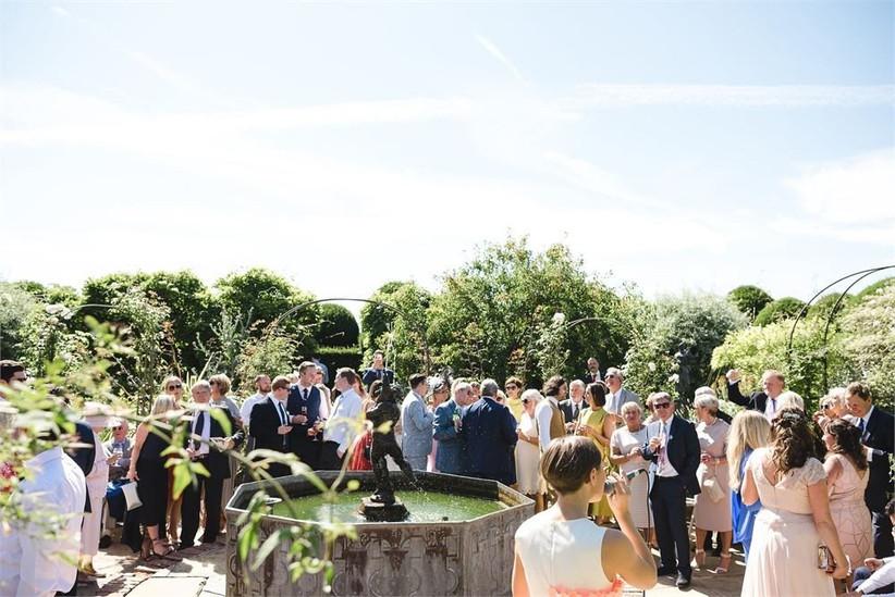Birtsmorton Court outdoor wedding